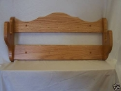 1 Gun Rack – Natural Finish