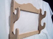 2 Gun Rack – Unfinished