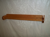 "Wooden 24"" Towel Bar - Red Oak"