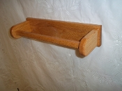 "Wooden 16"" Towel Bar - Red Oak"