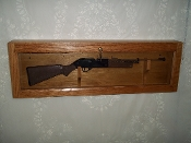 BB Gun Locking Display Case
