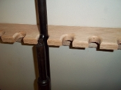 "36"" Closet Rack – Unfinished - Single Barrel Model"