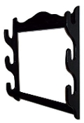 3 Gun Rack – Tact Black Finish